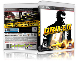 Driver San Francisco for Sony Playstation 3 - VGC/Tested/PAL/AUS