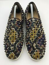 Christian Louboutin Sneakers Roller-Boat Python Men's US Size 9.5 (MSRP:$1195)
