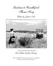 Larkrise to Candleford Theme sheet Music for solo Celtic Harp