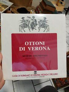 Ottoni di Verona Musiche Strumentali del Cinquecento Seicento 1984 lp sealed