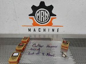 Cutler-Hammer Bul. 10177H 1015A Adjustable Overload Heater Coils New (Lot of 4)