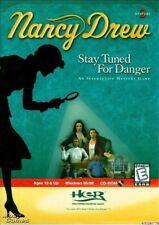 NANCY DREW STAY TUNED FOR DANGER +1Clk Windows 10 8 7 Vista XP Install