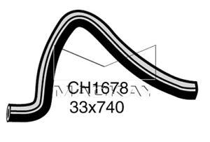 Mackay CH1678 BOTTOM Radiator Hose FITS Ford Corsair 2.0L Nissan Pintara 2L R31