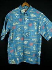 Reyn Spooner Trader Joe's 2004 Hawaiian Aloha Cotton Shirt XL
