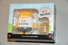 Android Special Edition I Love My Dog Andrew Bell Google Robot Figure toy vinyl