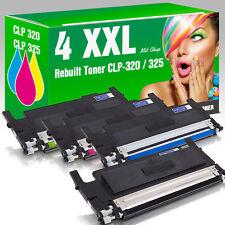 4 Rebuilt Toner für Samsung CLP320 CLP325 CLP325W CLX3180 CLX3185FN CLX3185FW
