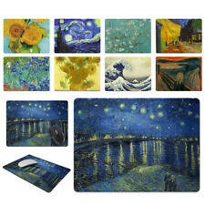 X-Large Rectangle Mouse Pad Non-Slip Famous Painting for Home Office Gaming