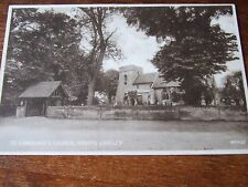 St Lawrence Church Abbots Langley nr Hemel Hempstead  & Watford, Valentines  PC