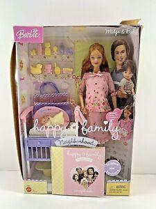 Barbie Happy Family Neighborhood Pregnant Midge and Baby C6062 RARE PINK DRESS