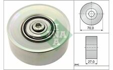 INA Drive Belt Idler Pulley for BMW 5 Series 7 6 532 0398 10 - Mister Auto