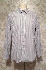 Jaeger Cotton Striped Long Formal Shirts for Men