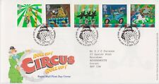 TALLENTS PMK GB ROYAL MAIL FDC FIRST DAY COVER 2002 CIRCUS STAMP SET