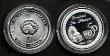 KUWAIT UN 50 year anniversary. Silver proof coin.