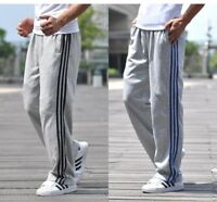 Mens Sweatpants Casual Loose Plus Sport Trousers Straight Pants XL-5XL 2Colors 9