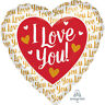 "Wedding/Valentine's Day Jumbo Love Heart Shaped Big 28"" Foil Balloon Decoration"