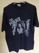 Euc The Police Band 2007 Tour Crew Concert T-Shirt Men Large Usa Made Classic