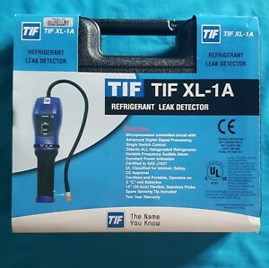 TIF XL-1A AC Refrigerant Leak Detector, Storage Case & Batteries Free Shipping