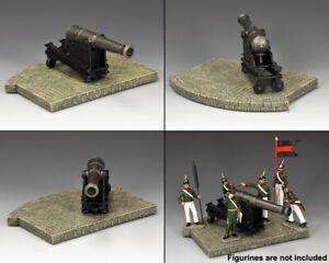 KING & COUNTRY CRIMEAN WAR CR015 COASTAL 8 INCH CANNON