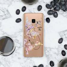 Traveler Gift Case For Samsung S6 Egde S7 S8 S9 S10 Plus Silicone Cover Note 8 9