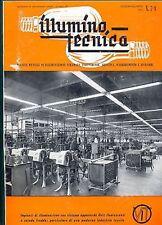 ILLUMINO TECNICA - LUGLIO/AGOSTO 1961 - APPARECCHI OVIT - MILANO