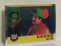 2006 Topps Heritage Chrome Godfather wwe wrestling card wwf nwa superstar kama