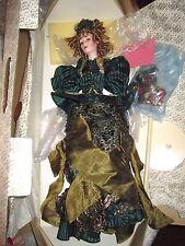 Franklin Mint Helena The Gibson Girl Christmas Heirloom Doll *NIB *COA *Rare