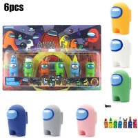 For Kid 7/12 PCS/Set Among Us Action Figures Collection PVC Dolls Game Cute Toys