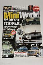 Mini World Magazine, November 2010, Speedwell 997/Clubman Estate/Anti-Roll Bar..