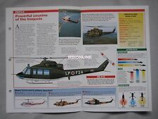 Aircraft of the World Card 70 , Group 3 - Bell Model 212/214/412