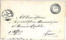 LOMBARDO VENETO -  BUSTA : VIMERCATE 1858
