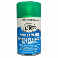 Testors Transparent Candy Emerald Green Spray Paint Can  3 oz.  1601