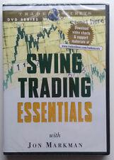 SWING TRADING ESSENTIALS by Jon Markman * New Sealed Stock Trading DVD *