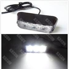 3W LED WORK LIGHT BEACON EMERGENCY FLASH WARNING STROBE GRILLE NET LIGHT WHITE