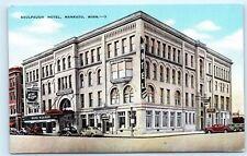 *Mankato Minnesota Saulpaugh Hotel Blue Blazer Cafe Bar National Bank 1940s A13