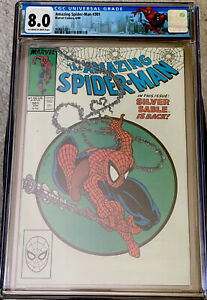 AMAZING SPIDER-MAN #301 CGC 8.0 OW/W ASM LABEL TODD McFARLANE COVER (1988) KEY