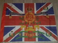 The Royal Scots 3rd Battalion Waterloo kings colours flag
