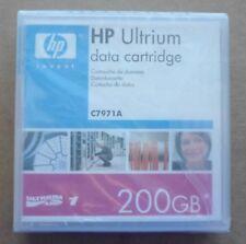 HP C7971A Ultrium 1 LTO1 100/200GB Data Tape Cartridge New! Factory Sealed