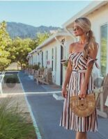 Gorgeous New With Tags Adelyn Rae Gidget Strapless Midi Dress Size M
