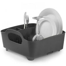 Umbra Tub Dish Rack - Smoke