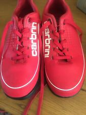 Boys Trainers - Carbrini Astro Trainer - Red/White - Size UK 12