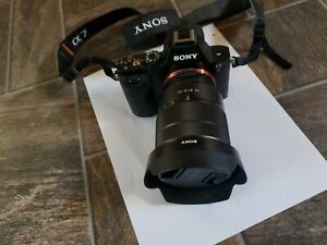 Sony Alpha a7R 36.4MP 35mm Full Frame CMOS Image Sensor SLR Camera