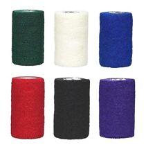 "6 Vet Tape Self Adhesive Bandage 4"" Wrap ~ New"