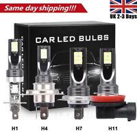 Canbus Error Free H1 H4 H11 H7 LED Headlight Conversion KIT 200W Bulbs Fog Light