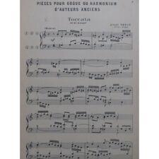 Pièces d'auteurs anciens pour Orgue ou Harmonium partition sheet music score