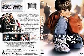 Searching For Bobby Fischer DVD 1993 Laurence Fishburne CHESS Movie RARE - REG 4