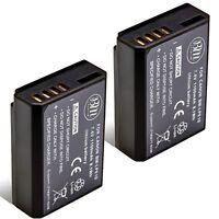 BM 2X LP-E10 Batteries for Canon EOS 1100D, EOS 1200D, EOS 1300D, EOS 2000D