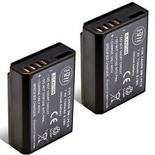 BM Premium 2 Pack of LP-E10 Batteries for Canon Rebel T3, T5, T6, T7 DSLR Camera