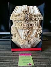 Liverpool football club  Book folding. Ideal Gift. Unique custom made. LFC