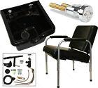 New ABS Polymer Shampoo Bowl Reclining Chair Barber Beauty Salon Spa Equipment