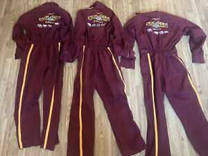 Lot Of 3 Rare VTG Ringling Brothers Barnum Bailey Circus Jumpsuit Kenneth Feld